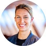 Christiane ist Berufseinsteiger bei Daimler.